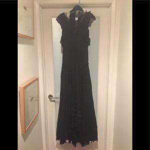 Vintage Couture Couture designer Gown. Sz: